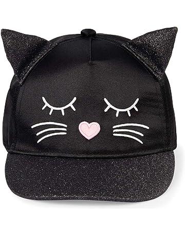 huge discount 5b9d9 46772 The Children s Place Girls  Baby Novelty Cat Baseball Cap