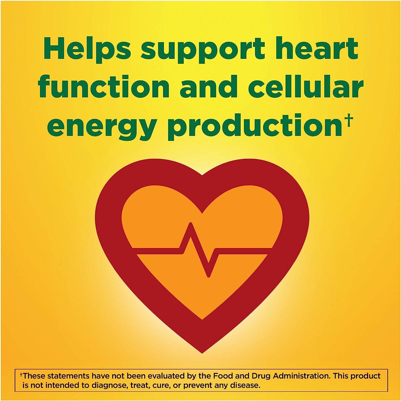 Nature Made Ubiquinol CoQ10 100 mg Softgels, 30 Count for Heart Health