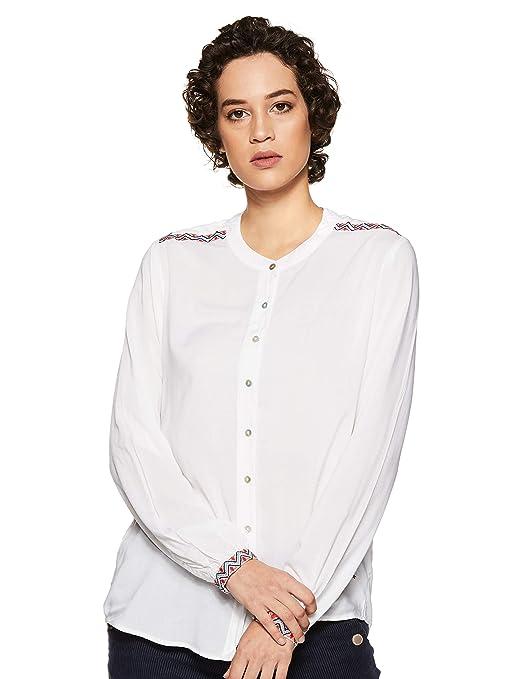 Pepe Jeans Women's Shirt Women's Blouses & Shirts at amazon