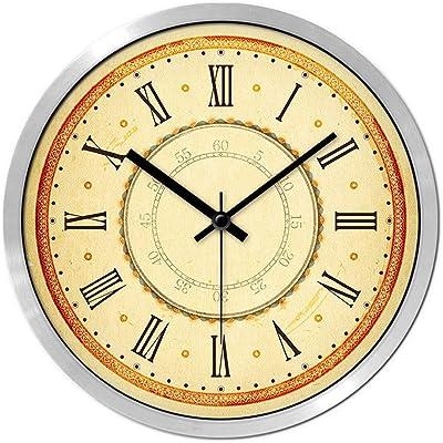 Amazon Com Lulu Decor 19 Quot Baltic Amber Mosaic Wall Clock