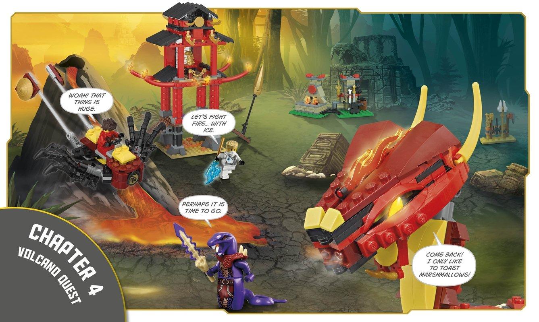 lego ninjago build your own adventure dk 9781465435903 amazoncom books