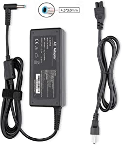 HEANLPU 65W 45W Laptop/Laptop AC Adapter/Power Supply/Charger for HP Output: 19.5V3.33A Power Cord Connector Size: 4.5mm X 3.0mm
