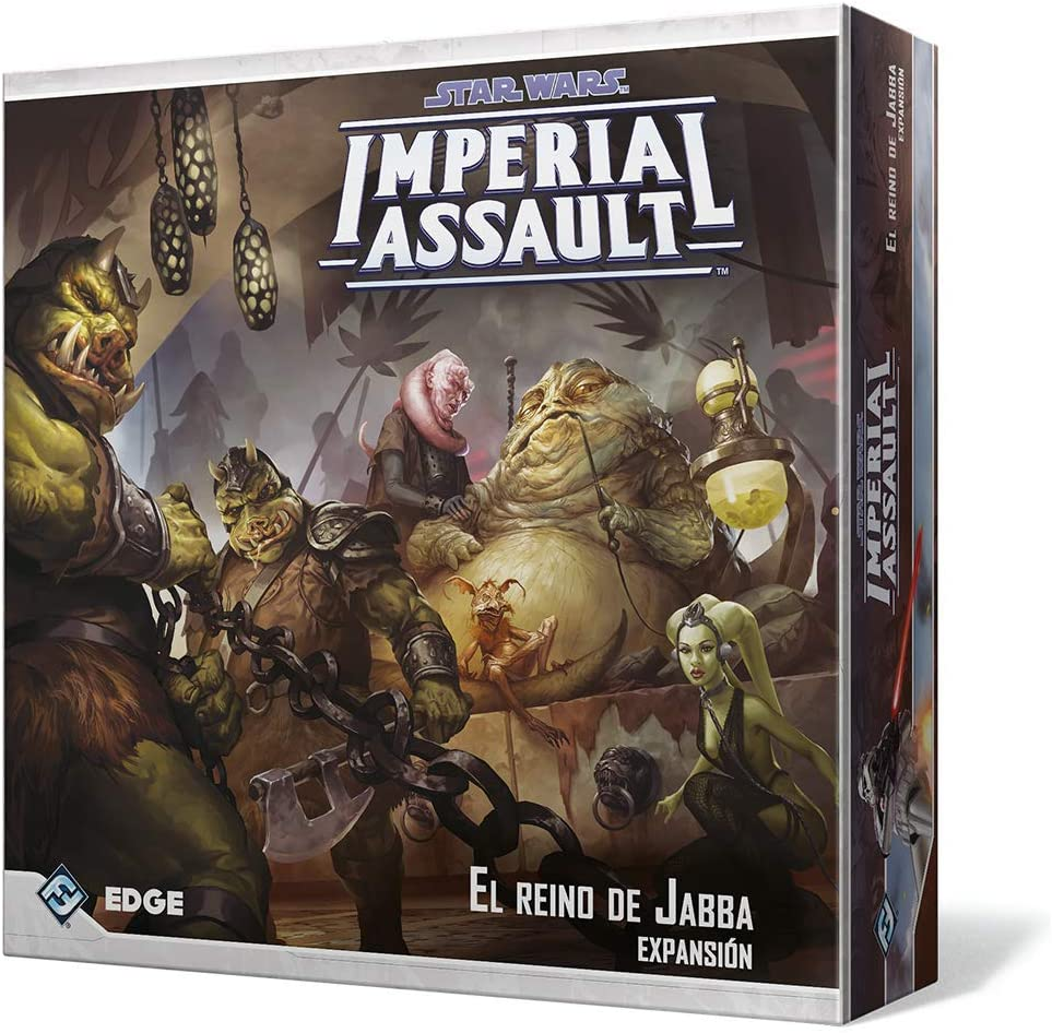 Fantasy Flight Games-El Reino de Jabba, colección Imperial Assault (FFSWI32)