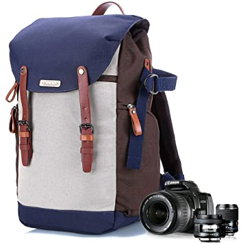 Amazon.com : Dslr Camera Case Backpack For Girl With Tripod Holder ...