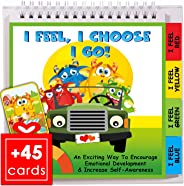 Mood Flipbook Kit for Kindergarten & Preschool, That Teaches Children to Identify Feelings & Make Positive Choices, Great Gif