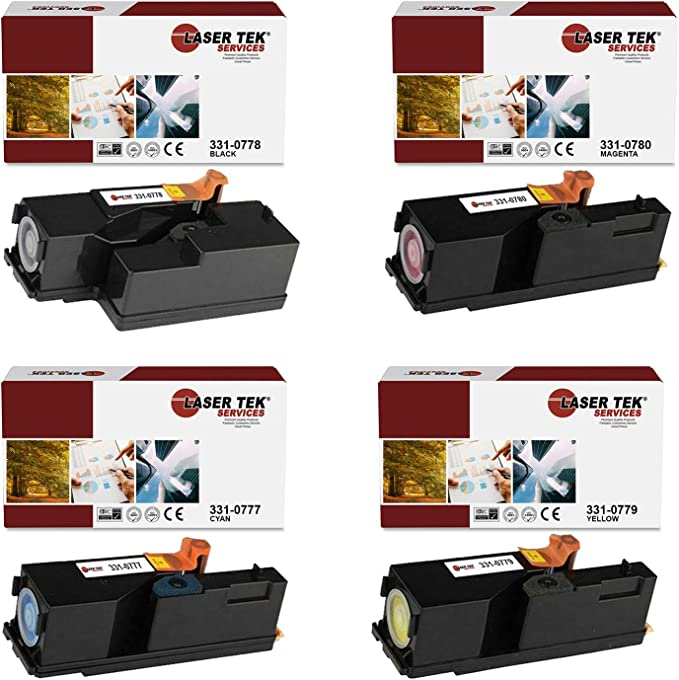 DG1TR C1765NF 1350CNW Works with: 1250C On-Site Laser Compatible Toner Replacement for Dell 331-0779 Yellow C1760NW 1355CN C1765NFW 1355CNW