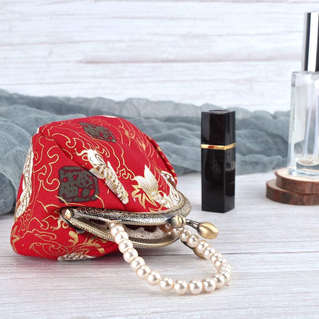 Oyachic 2 Pi/èces Porte Monnaie Porte-monnaie Femme Bourse Pochette Long Coin Purse Mini Wallet Titulaire de la Carte Pochette Passeport 2 pi/èces Rouge+Bleu