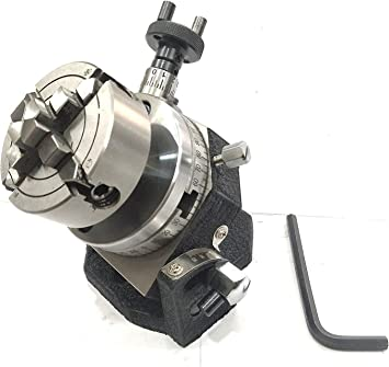 """Rotary Table 3/""""// 75 mm with 70 mm Independent Chuck"""