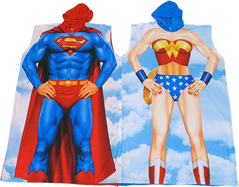 DC Comics Superman Poncho Costume Multi-color