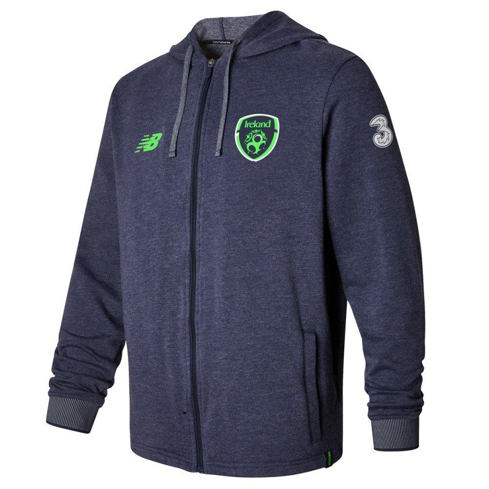 New Balance Jungen Offizielles Fai Merchandise Irland Elite Travel Hoody