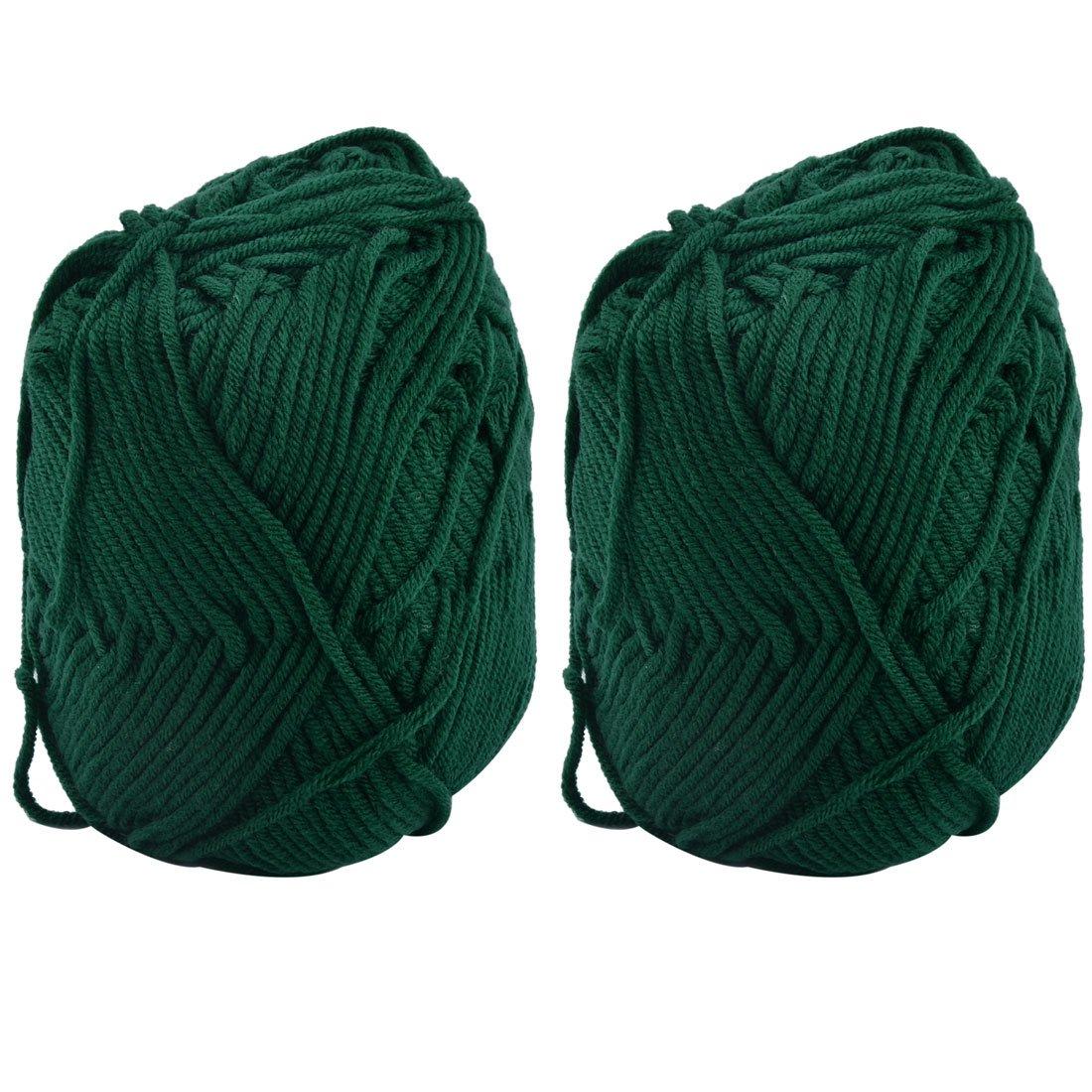 Weich Baumwollgarn Strickwolle Ball für Hausschuhe Socken Pullover Wolle 100G