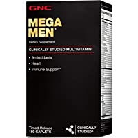180-Count GNC Mega Men Multivitamin for Men