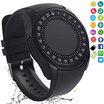 Amazon.com: Reloj inteligente Bluetooth Smartwatch Pantalla ...