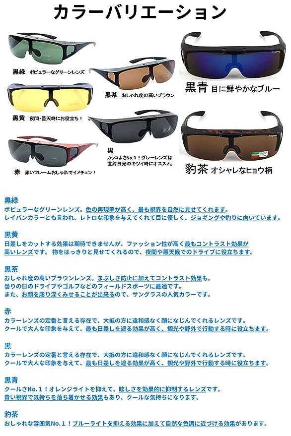 Astarte (Astarte) escamotable Plus de lunettes de soleil polarisées lentille étui de rangement Ensemble (Noir/vert) nnHkyrYZzx