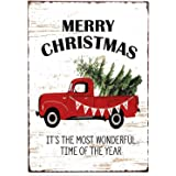 TIN SIGN Candy Cane Kitchen Metal Wall Art Christmas Holiday Cottage Bar A869