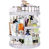 Famitree Rotating Makeup Organizer,Acrylic Clear Perfume Organizer,7 Adjustable Layers Large Capacity Cosmetic Carousel…