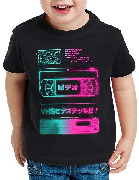 A.N.T. VHS Tape Camiseta para Niños T-Shirt videocinta Casete VCR showview: Amazon.es: Ropa y accesorios