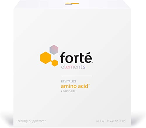Forte Amino Acid Supplement Powder Physician Formulated Blend of Glutamine, Arginine, Lysine, Taurine and Serine Supports Intense Exercise and Trauma Recovery Lemonade Flavor 30 Servings