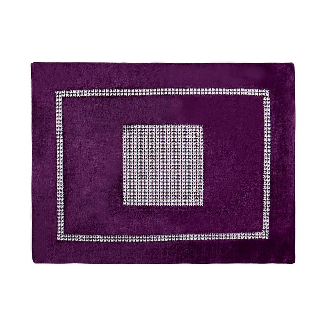 sourcingmap® Diamante de lujo del banquete de boda de la chispa Camino de mesa Mantel Terciopelo Decoración US-SA-AJD-225542