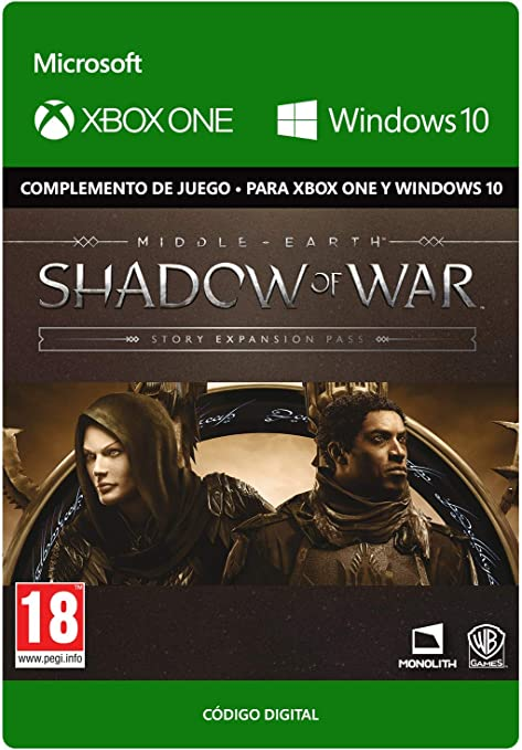 Middle-earth: Shadow of War - Story Expansion Pass   Xbox One ...