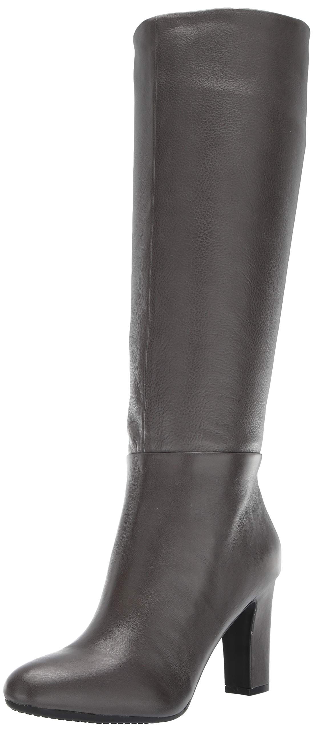 Aerosoles Women's Hashtag Knee High Boot, Grey Leather, 9 M US by Aerosoles