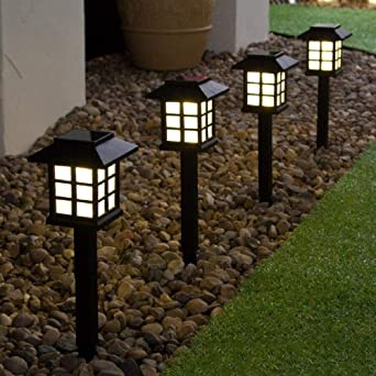 LED exterior césped mini luz jardín patio pequeña habitación solar pequeño enchufe de luz luz solar-Luz de césped (luz de color): Amazon.es: Iluminación