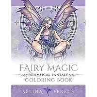Fairy Magic - Whimsical Fantasy Coloring Book (Fantasy