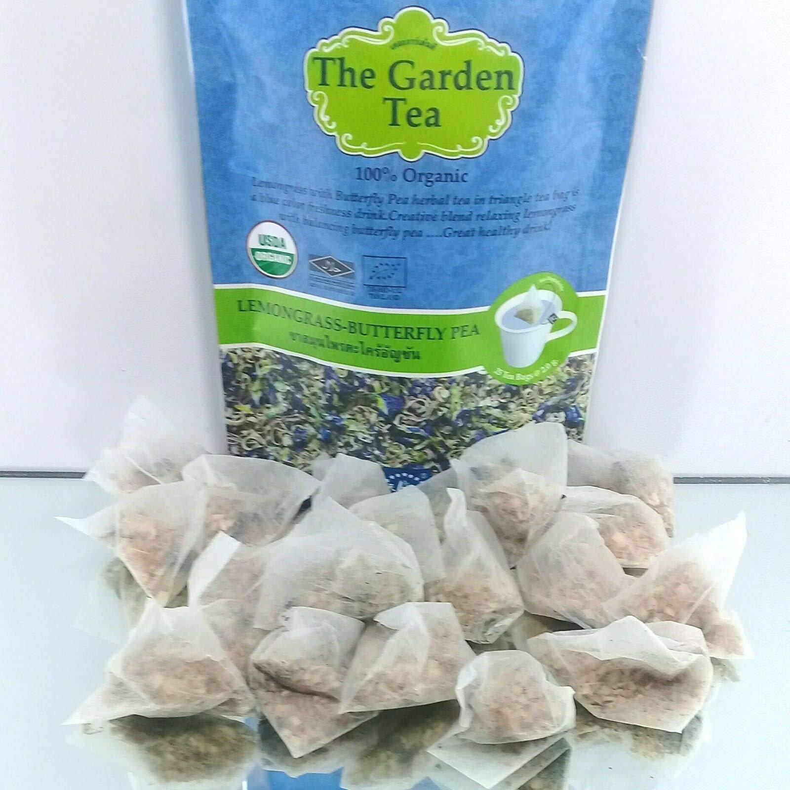 The Garden Tea Lemongrass-Butterfly Pea. Non Cafeine,Suwirun