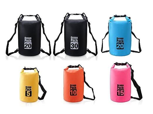 68 opinioni per Borsa impermeabile Borse Dry Bag 5L/10L/15L/20L/30L / Sacca Impermeabile /Sacco
