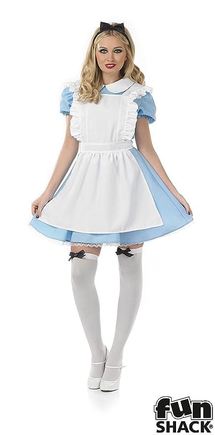 Fun Shack Tradizionale Alice - Adult Costume - XL - 48-50  Amazon.it ... bd464a5008f