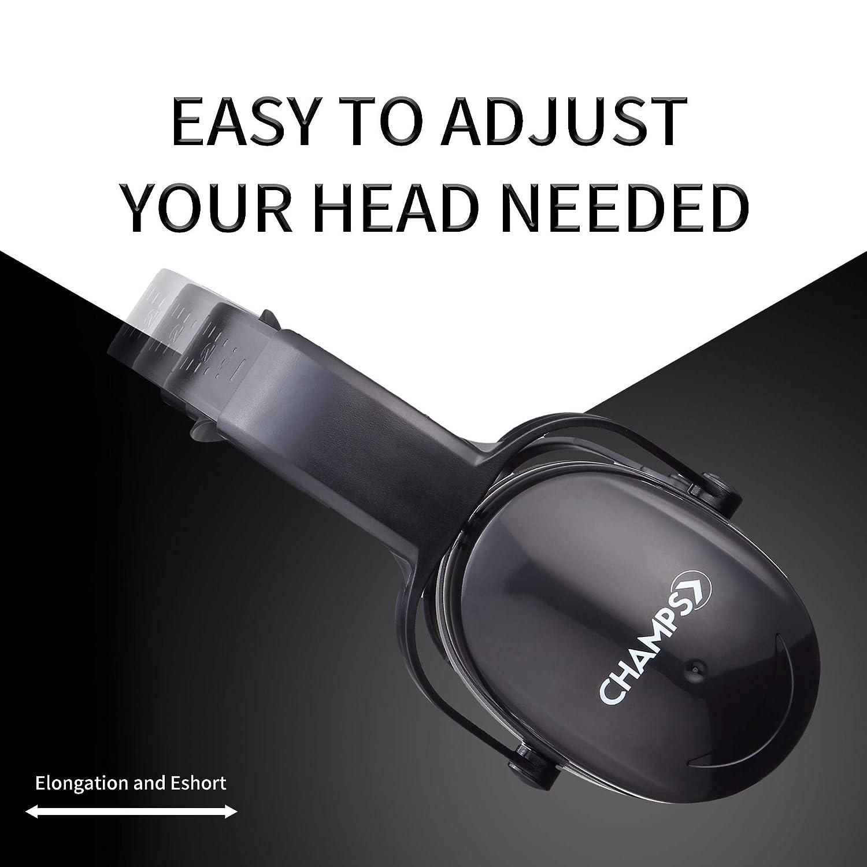Champs - Protectores de oídos de seguridad para reducción de ruido ...