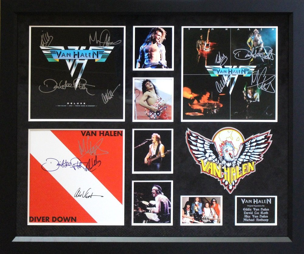 Van Halen - Signed Album by Vintage Favs