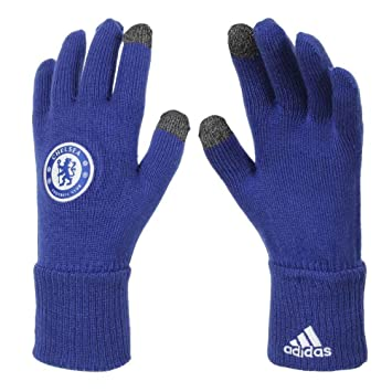 best sneakers 1c3fd ec17f adidas Chelsea Gloves  royal blue   Amazon.co.uk  Sports   Outdoors