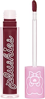 product image for Lime Crime Plushies Soft Matte Lipstick, Blackberry - Sheer Blackberry - Blackberry Candy Scent - Long Lasting, Nude Lips - Soft Focus, Non-Opaque Lip Veil - 0.11 fl oz