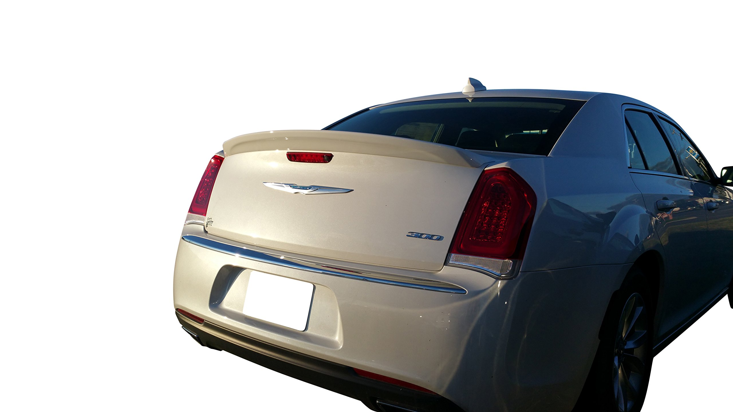 Facory Style SRT Spoiler for the Chrysler 300 2012-2018 Painted in the Factory Paint Code of Your Choice 563 Tungsten PDM