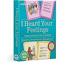 eeBoo's I Heard Your Feelings Conversation Flash Cards for Kids