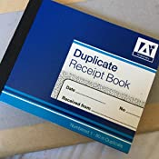 duplicate receipt book amazon co uk office products