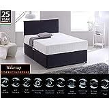 Wake-Up Ortho Memory Foam Double Size Mattress (72x48x6-inch)