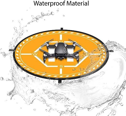 Waterproof Nylon for DJI Tello Mavic Phantom 3 4 Spark Mavic 2 Pro Zoom Air Fstop Labs Drone and Quadcopter Landing Pad Accessories 32 inch