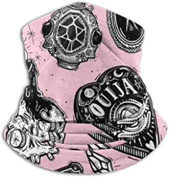 fenrris65 Ouija - Bufanda deportiva resistente al viento,