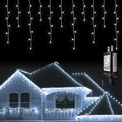 Icicle LED Christmas Lights Outdoor Holiday Decorations LED String Lights