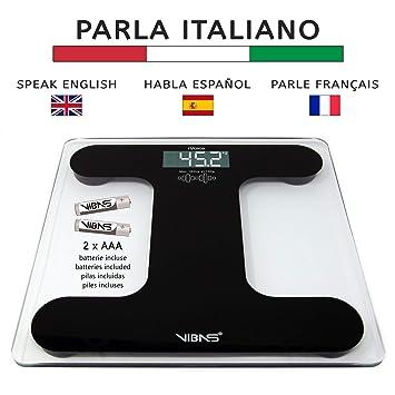 Vibas iVoice - Báscula hablante en español y multilingüe, pilas ...