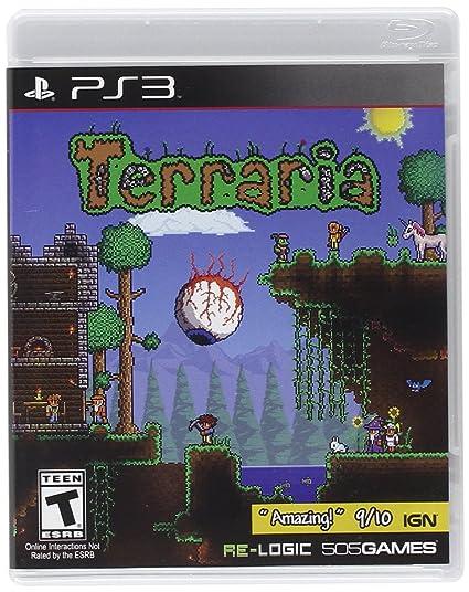 Amazon com: Terraria - PlayStation 3: Sony PSP: Video Games