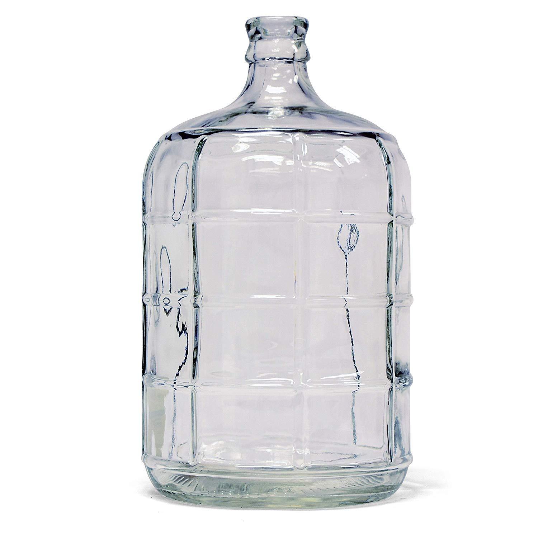 Tricor Braun B24 3 gal Glass Carboy, Clear