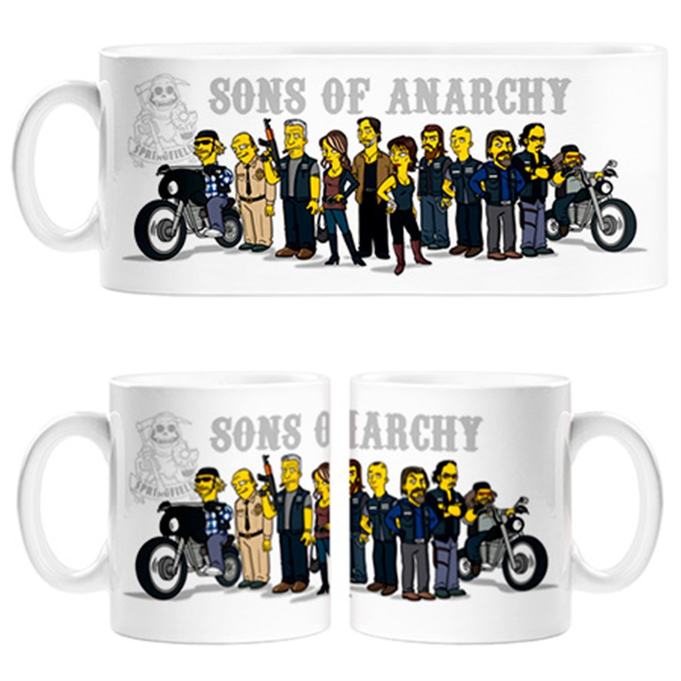 Taza Sons of Anarchy versión Los Simpson https://amzn.to/2Gtjuux