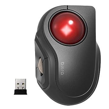 Amazon | エレコム マウス ワイヤレス (レシーバー付属) トラックボール Sサイズ 小型 人差し指 5ボタン 静音 ブラック M-MT2DRSBK | エレコム | マウス 通販
