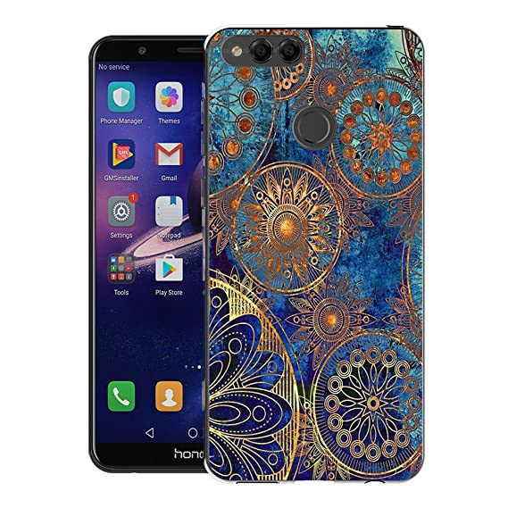Huawei Mate SE/Honor 7X Case, FoneExpert Pattern Soft Slim Gel Silicone TPU  Cover Case for Huawei Mate SE/Honor 7X