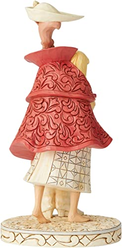 Enesco Disney Traditions by Jim Shore White Woodland Sleeping Beauty Aurora Figurine, 10 Inch, Multicolor