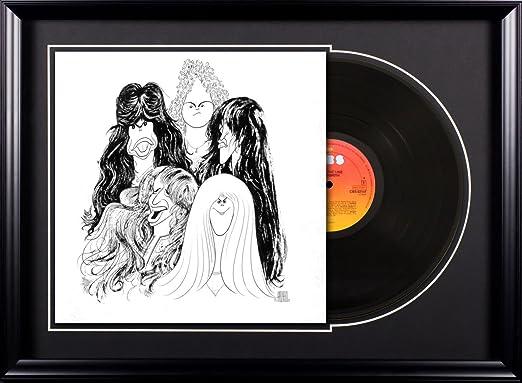 Amazon Com Aerosmith Draw The Line Vintage Album Deluxe Framed