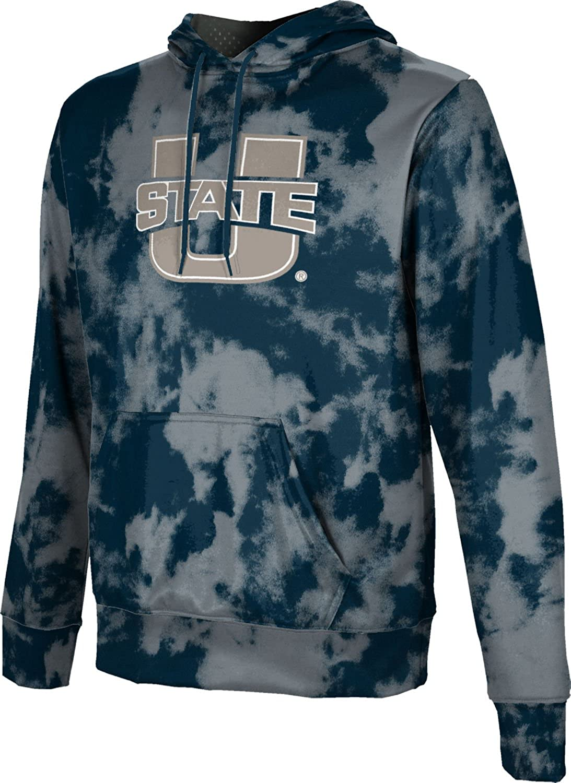 ProSphere Utah State University Mens Pullover Hoodie Grunge School Spirit Sweatshirt